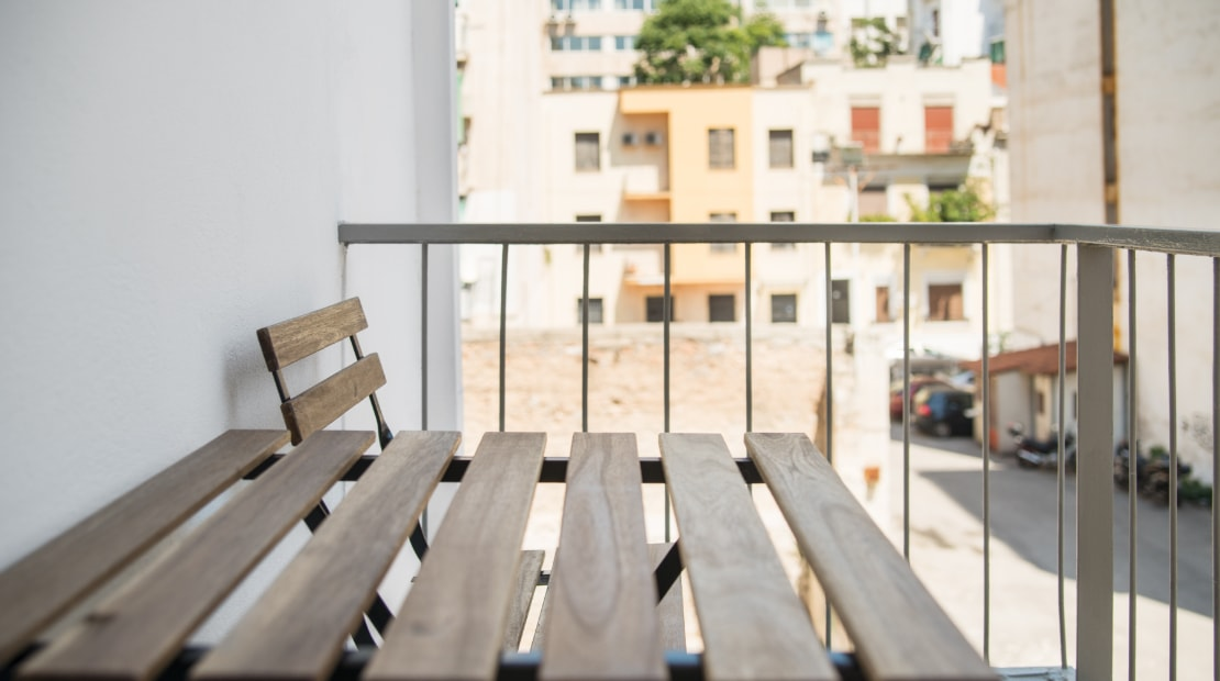 Apartment for Sale in Athens - Relaxing Balcony