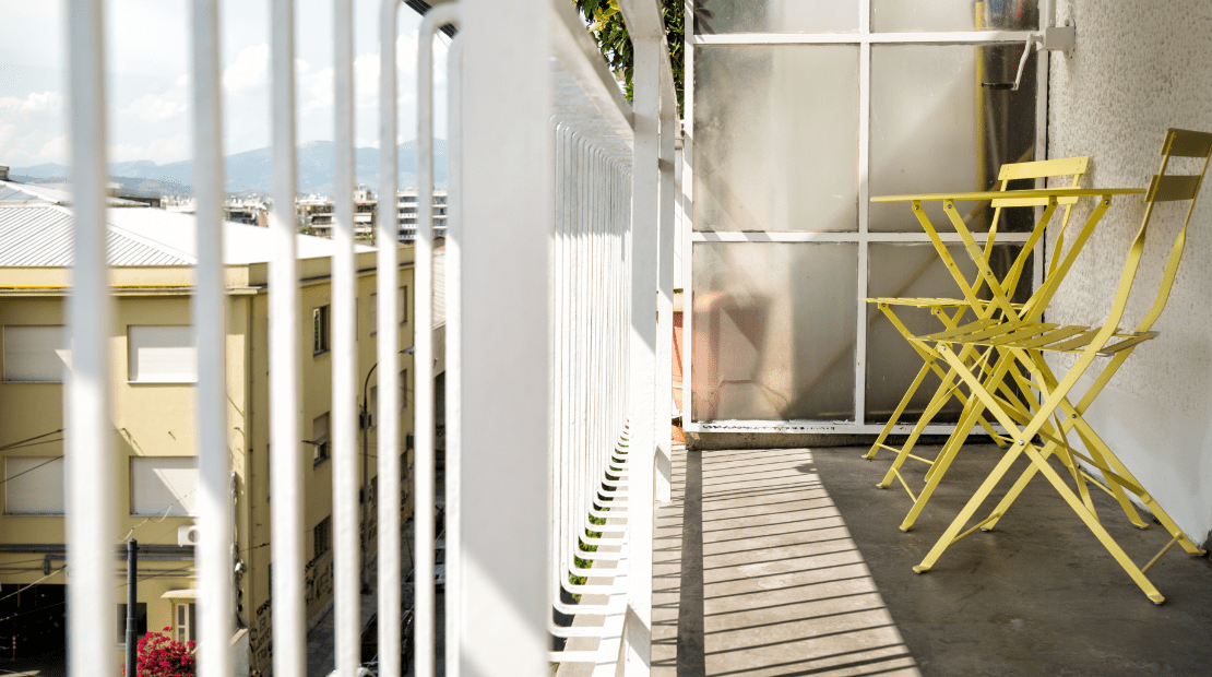 Apartment Balcony in Athens | GConstructions